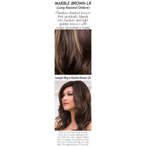 Shades: Marble Brown-LR (Long Rooted/Ombre)
